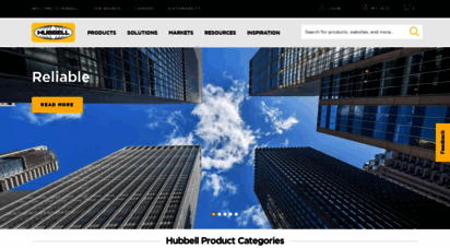 hubbell.com - hubbell  homepage