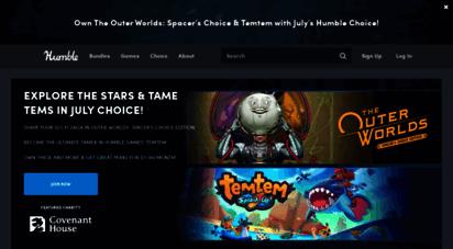 humblebundle.com - humble bundle  game bundles, book bundles, software bundles, and more