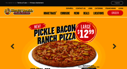 hungryhowies.com - hungry howies  home of the original flavored crust® pizza