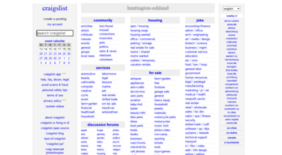 Welcome to Huntington craigslist org - Craigslist