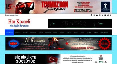 hurkocaeli.net - hür kocaeli  haber ve yaşam portalı - hür kocaeli