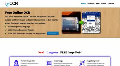 i2ocr.com - i2ocr - free online ocr