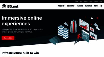 i3d.net - i3d.net - managed hosting provider