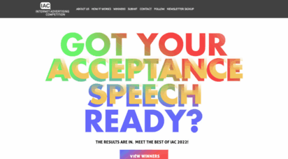 iacaward.org - internet advertising awards