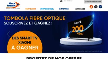 iam.ma - maroc telecom : forfaits téléphone mobile, fixe, internet, adsl, wifi, 4g, 3g maroc