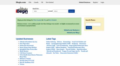 ibegin.com - ibegin - local search & business directory - ibegin