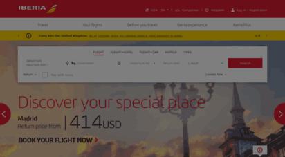 iberia.com - iberia.com en españa.los mejores precios en vuelos de iberia