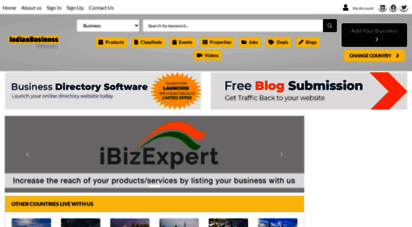 ibizexpert.com - free business listing site in india  business directory website  yellow pages directory  ibizexpert