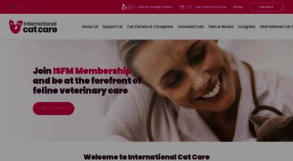 icatcare.org - international cat care  formerly feline advisory bureau