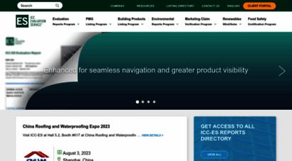 icc-es.org - icc evaluation service, llc icc-es