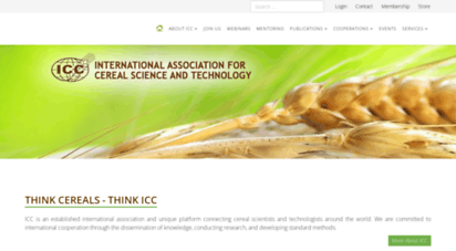 icc.or.at - icc - international ssociation for cereal science and technology