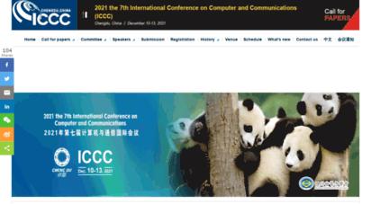 iccc.org - ieee6th iccc 2020