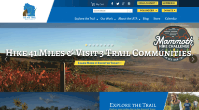 iceagetrail.org - ice age trail alliance - home