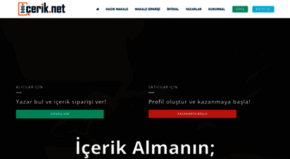 icerik.net - içerik = icerik.net ® türkiye´nin içerik servisi