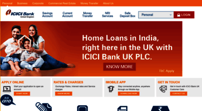 icicibank.co.uk - icici bank uk - personal, business, corporate and investment banking