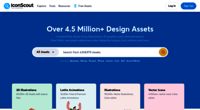 iconscout.com - iconscout: free download icons, illustrations & stock photos