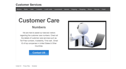 icustomercarenumbers.com