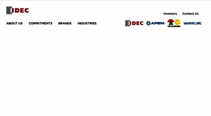 idec.com - idec global