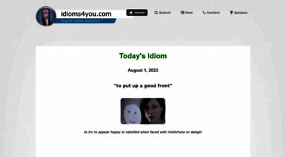 idioms4you.com -