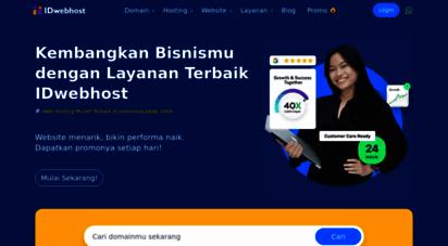 idwebhost.com - idwebhost web hosting murah indonesia cma rp 9.900