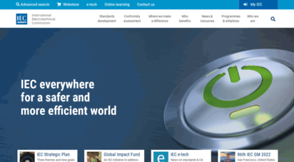 iec.ch - welcome to the iec - international electrotechnical commission