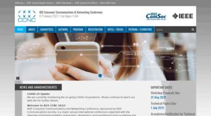 ieee-ccnc.org - welcome to ieee ccnc 2013