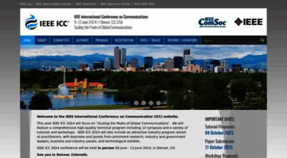 similar web sites like ieee-icc.org
