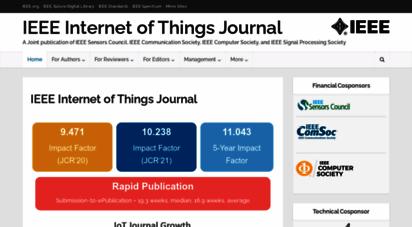 ieee-iotj.org - ieee internet of things journal - ieee internet of things journal
