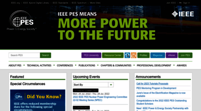 ieee-pes.org - home - ieee power and energy society