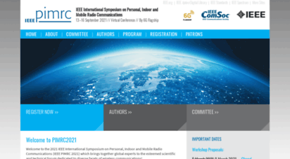 ieee-pimrc.org - welcome to ieee pimrc´14 conference!