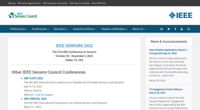 ieee-sensors.org - sensors council - ieee  ieee sensors council