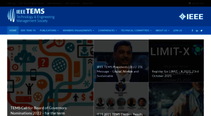 ieee-tems.org - ieee technology and engineering management society -