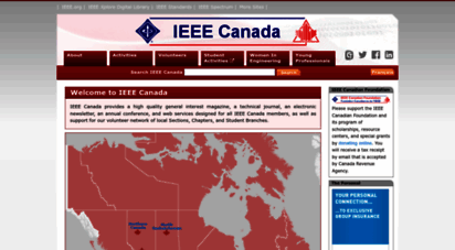 ieee.ca - ieee canada home page / page d´accueil de l´ieee