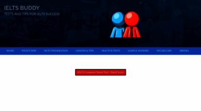 ieltsbuddy.com - ieltsbuddy - free exam preparation to improve your test score