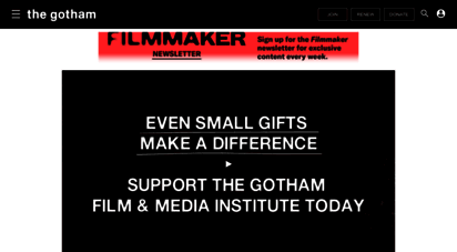 ifp.org - ifp  independent filmmaker project
