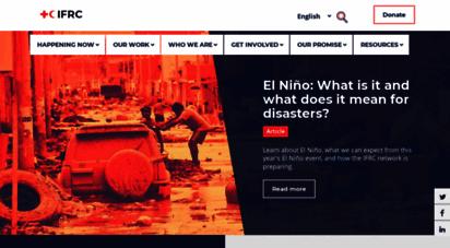 similar web sites like ifrc.org