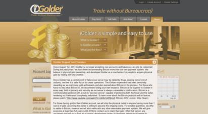 igolder.com - igolder - trade without bureaucracy