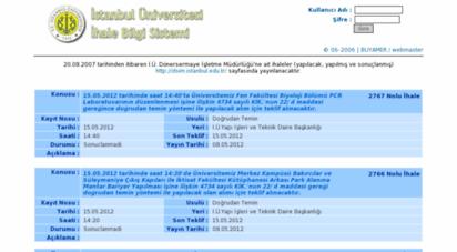 ihale.iu.edu.tr