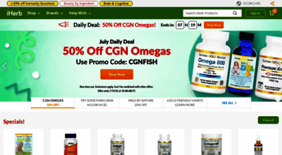 iherb.com - iherb.com - vitamine, nahrungsergänzungsmittel & natürliche gesundheitsprodukte