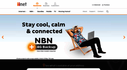 iinet.net.au - iinet  broadband internet, nbn plans, adsl2 and naked dsl