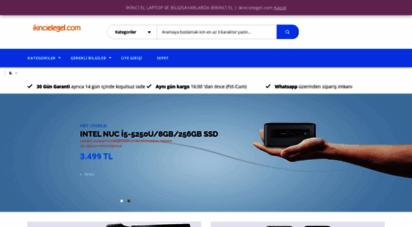 ikincielegel.com - ikinci el laptop ve bilgisayarlarda birinci el  ikincielegel.com