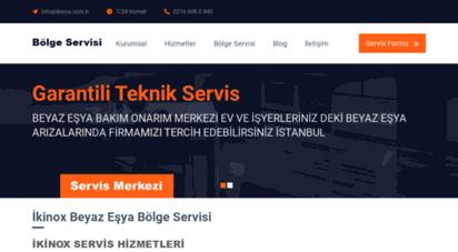 ikinox.com.tr - ikinox beyaz eşya bölge servisi