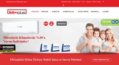 iklimplus.com - iklimplus mitsubishi klima yetkili satış ve servis merkezi - mitsubishi heavy industries