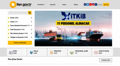 ilan.gov.tr - bik ilan portalı