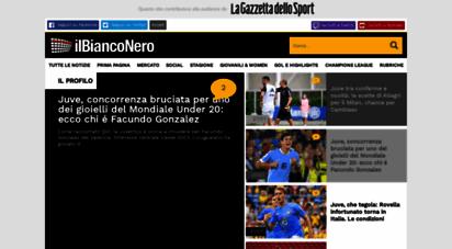 ilbianconero.com - juventus news - ultime notizie juve - il bianconero