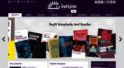 iletisim.com.tr - anasayfa - iletişim yayınları  okumak iptiladır müptelalara selam!