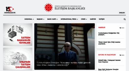 iletisim.gov.tr - türkiye cmhuriyeti  iletişim başkanlığı