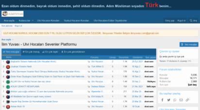 ilimyuvasi.com - ilim yuvası - ulvi hocaları sevenler platformu