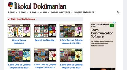 ilkokuldokumanlari.com - ilkokul dokümanları  1, 2, 3 ve 4. sınıf dokümanları