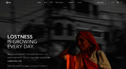 imb.org - international mission board :: home